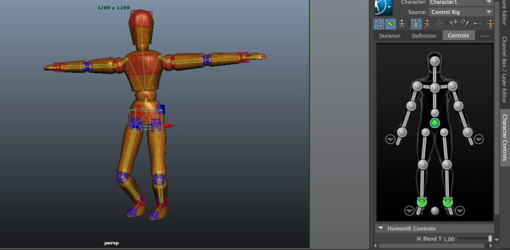 Autodesk Maya - IK / HumanIK | STYLY
