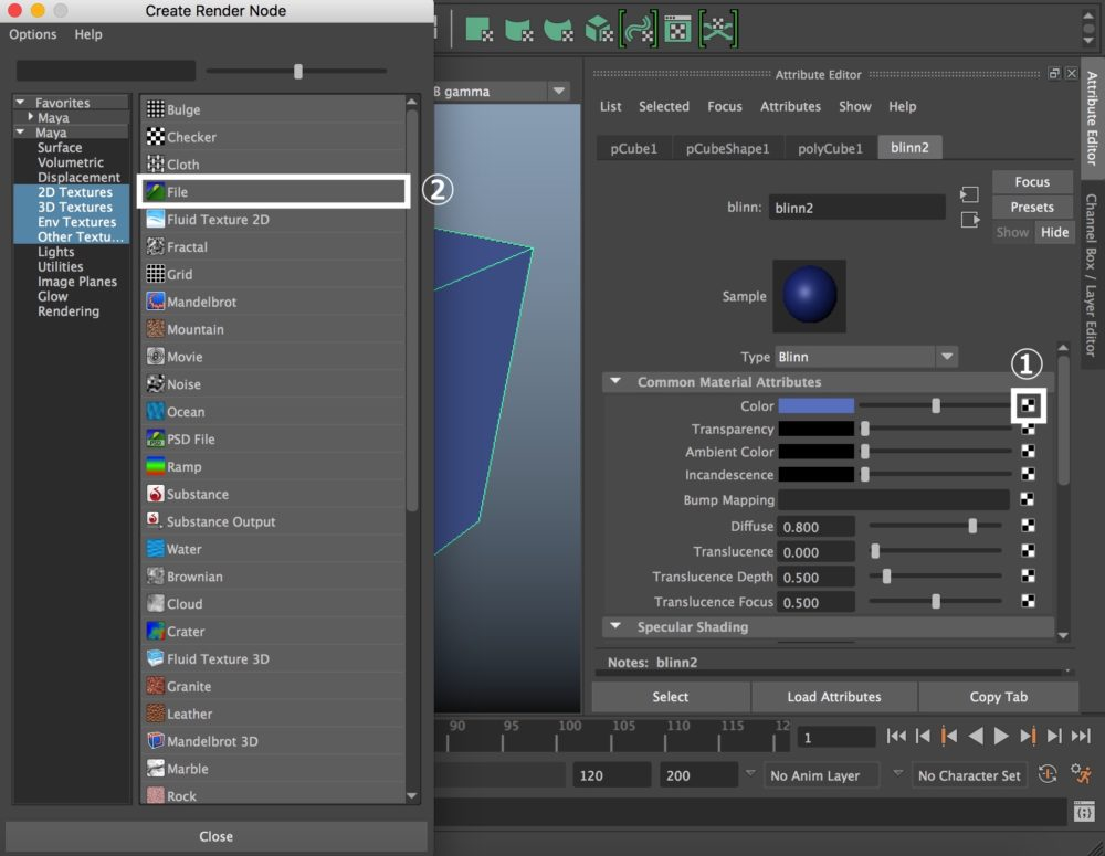 Autodesk Maya - Material and UV Layout | STYLY
