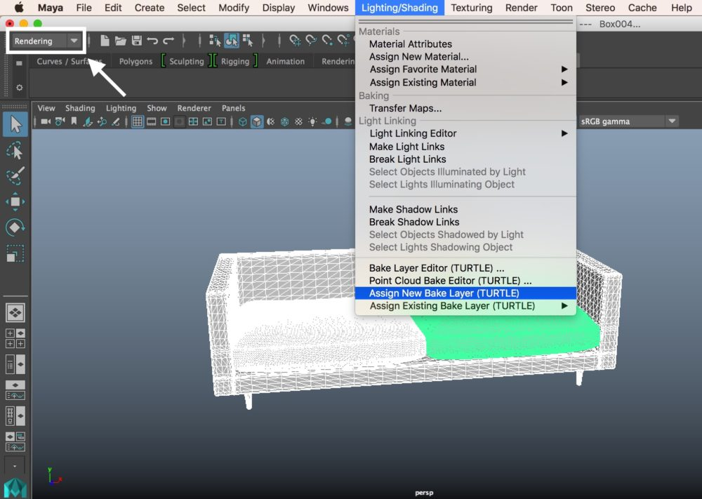 Autodesk Maya - Texture Baking (Ambient Occlusion) | STYLY