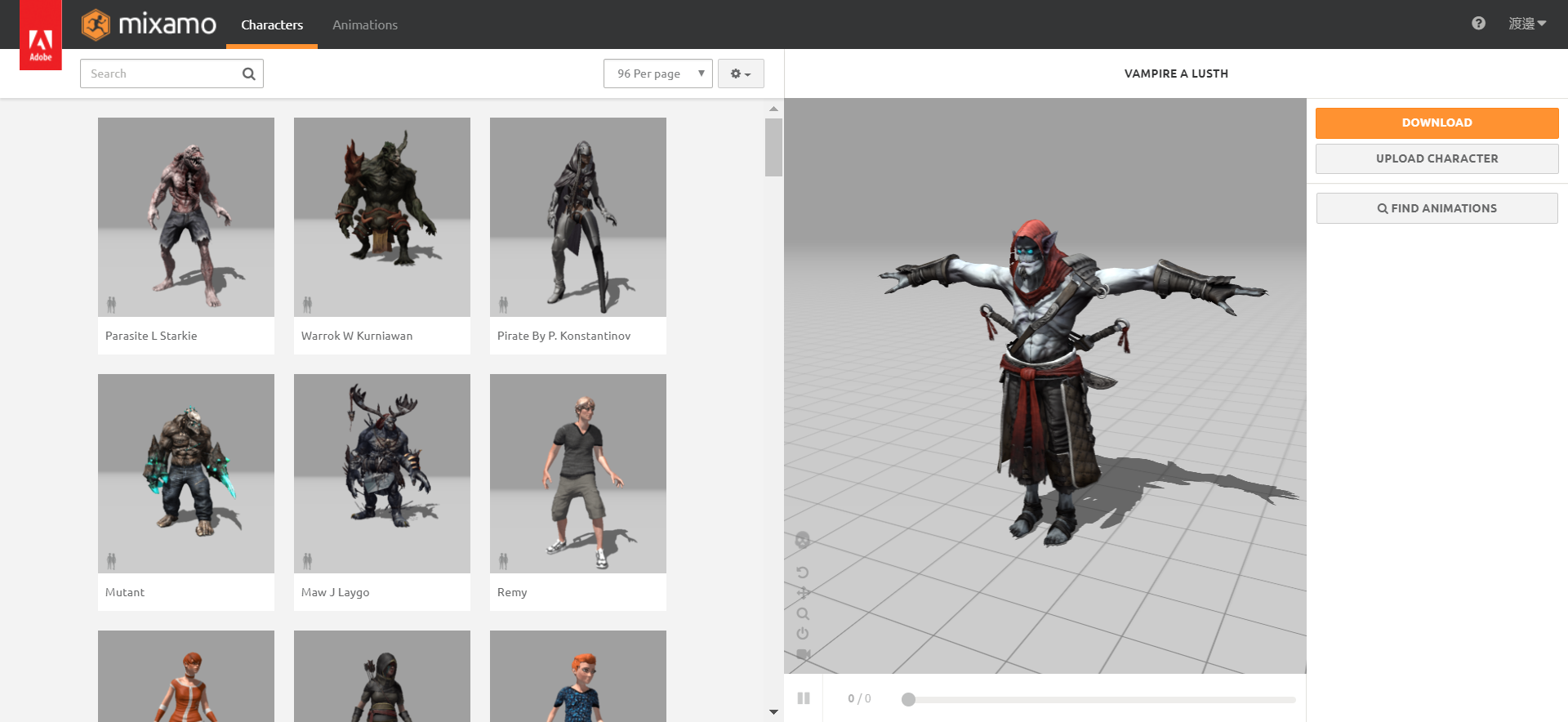 Setting animations to 3D characters using mixamo | STYLY