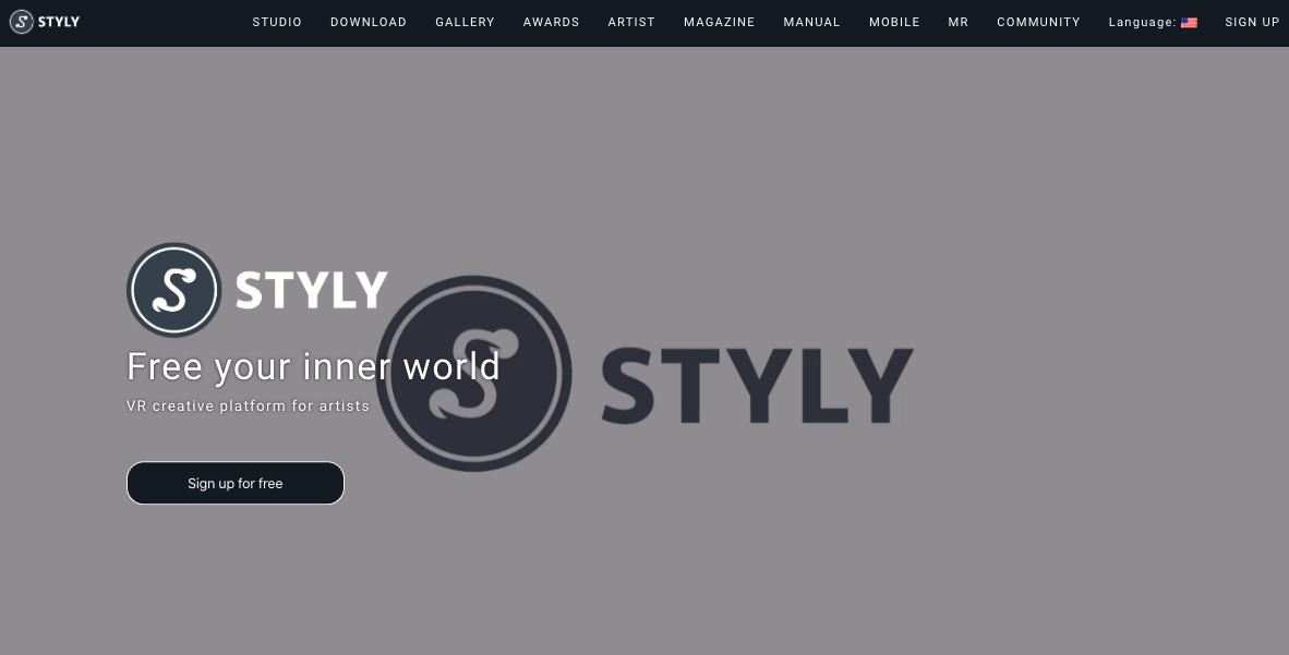 STYLYトップページ