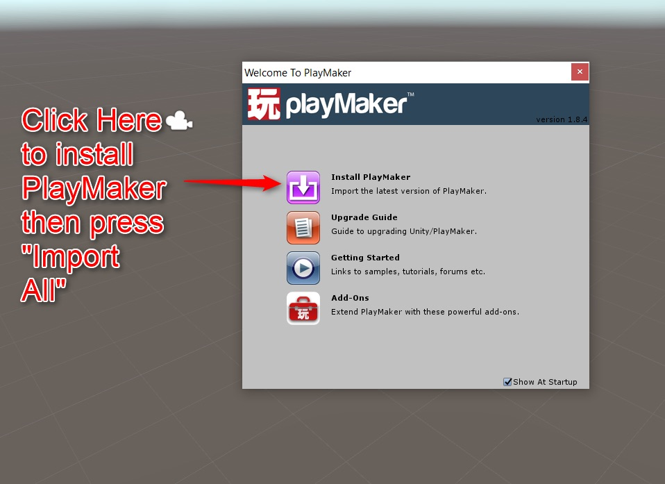 Using PlayMaker to create a game, and exporting it to STYLY -1- | STYLY