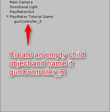 Create gunController_R