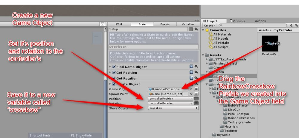 Add the Create Object action