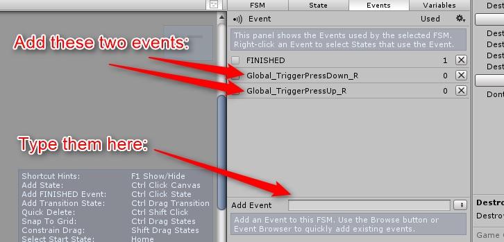 2つのグローバルイベントの追加
