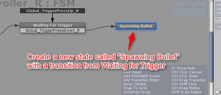 Add Spawning Bullet state