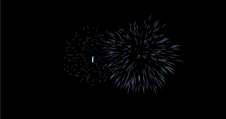 Unityのパーティクルで花火を作る 細いラインの花火編