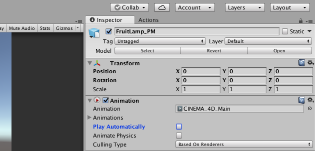 Fruit Lamp : tutorial part2 Unity3D | STYLY