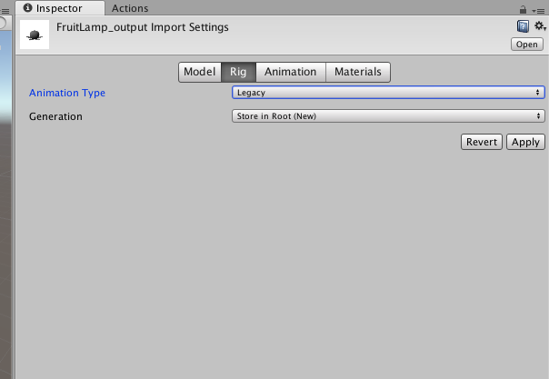 Fruit Lamp : tutorial part2 Unity3D   STYLY