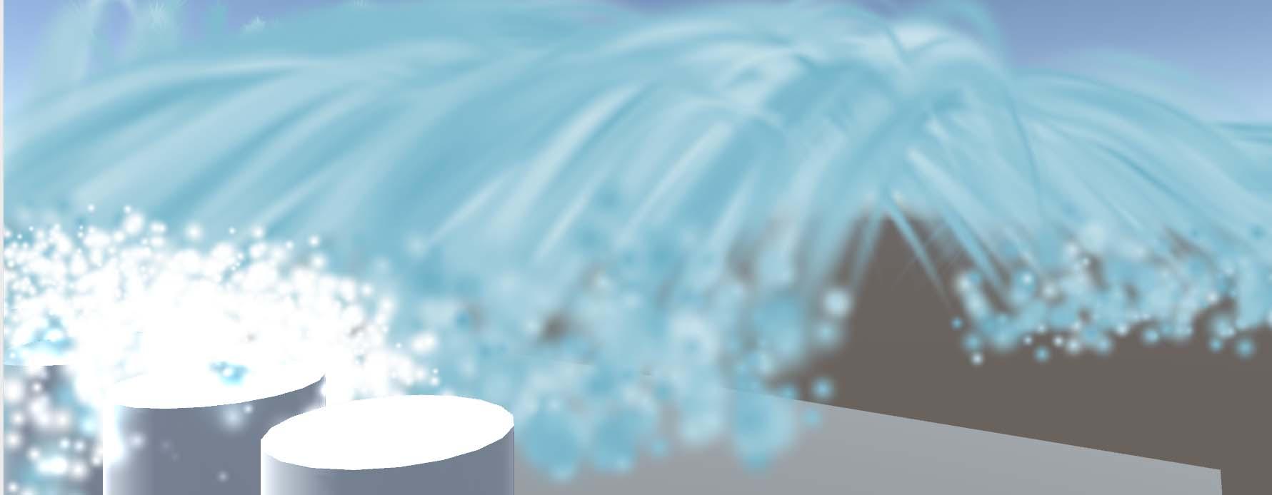 Unityのパーティクルシステムで波のエフェクトを作る