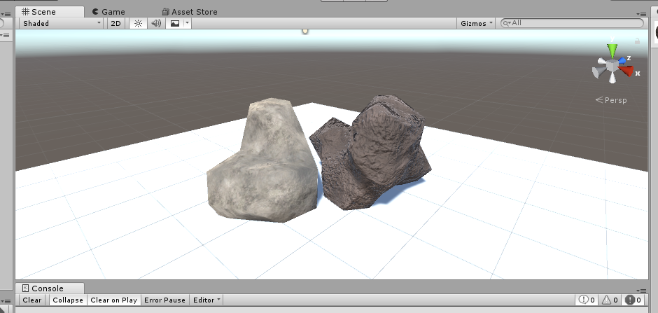 Rocks : tutorial 2. texturing with substance painter