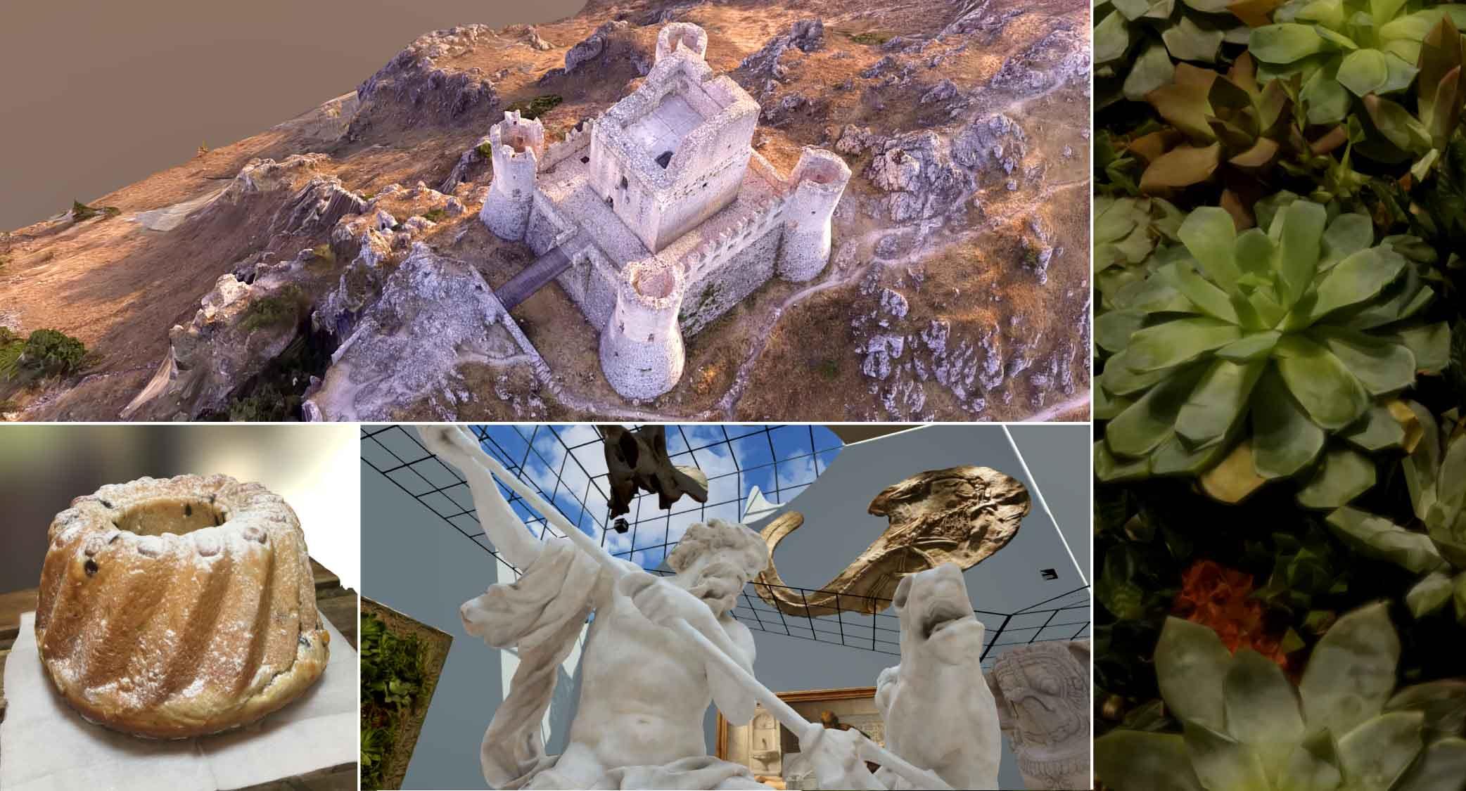 Introduction to photogrammetry – taking photo & generating 3D model
