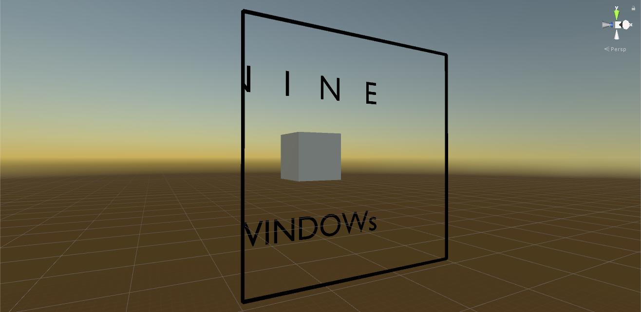 Spriteに窓シェーダーのギミックを適用する