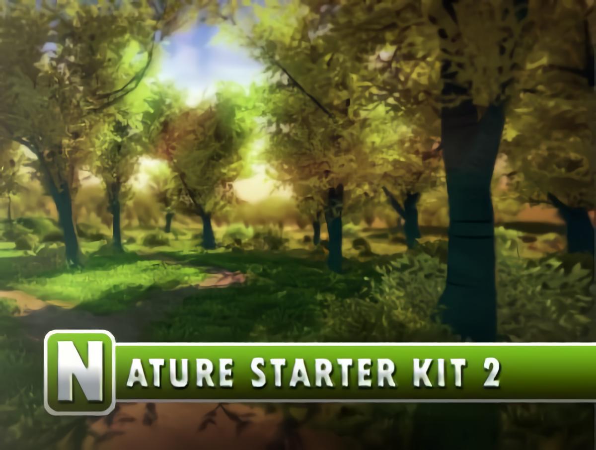 STYLYで使えるUnityおすすめアセット【Nature Starter Kit 2】無料 森