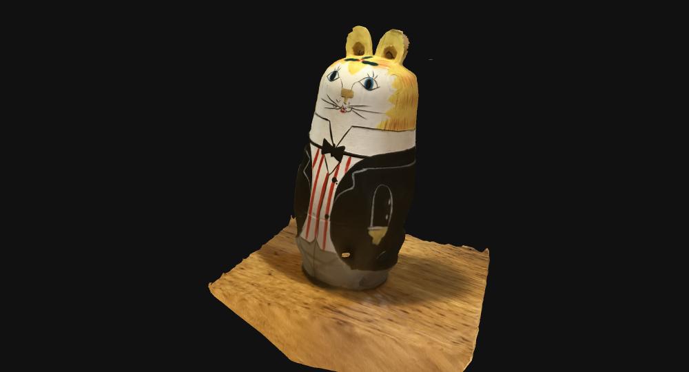 完成した3Dモデル