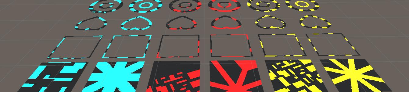 Unityを利用した2D画像の回転マスク表現