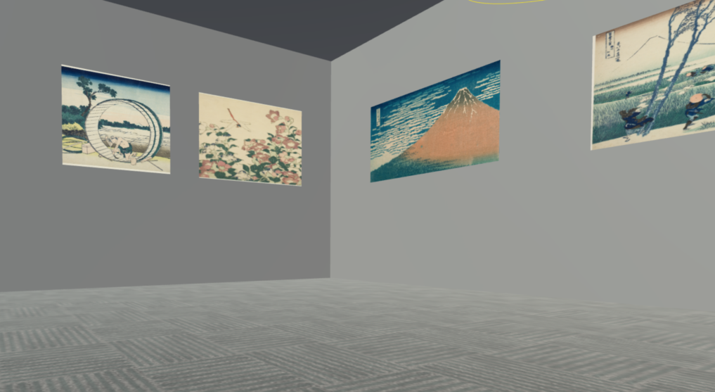 Create a VR museum of famous art works available for free