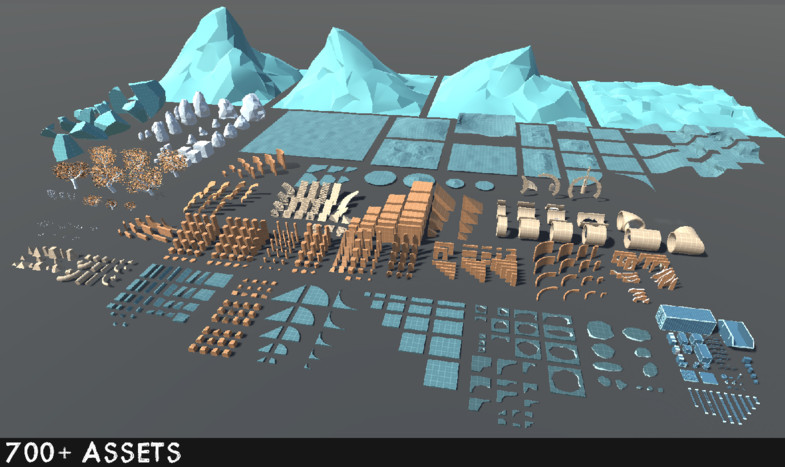 Recommendation of Unity Assets you can use in STYLY [Blockout] Buildings Landscapes