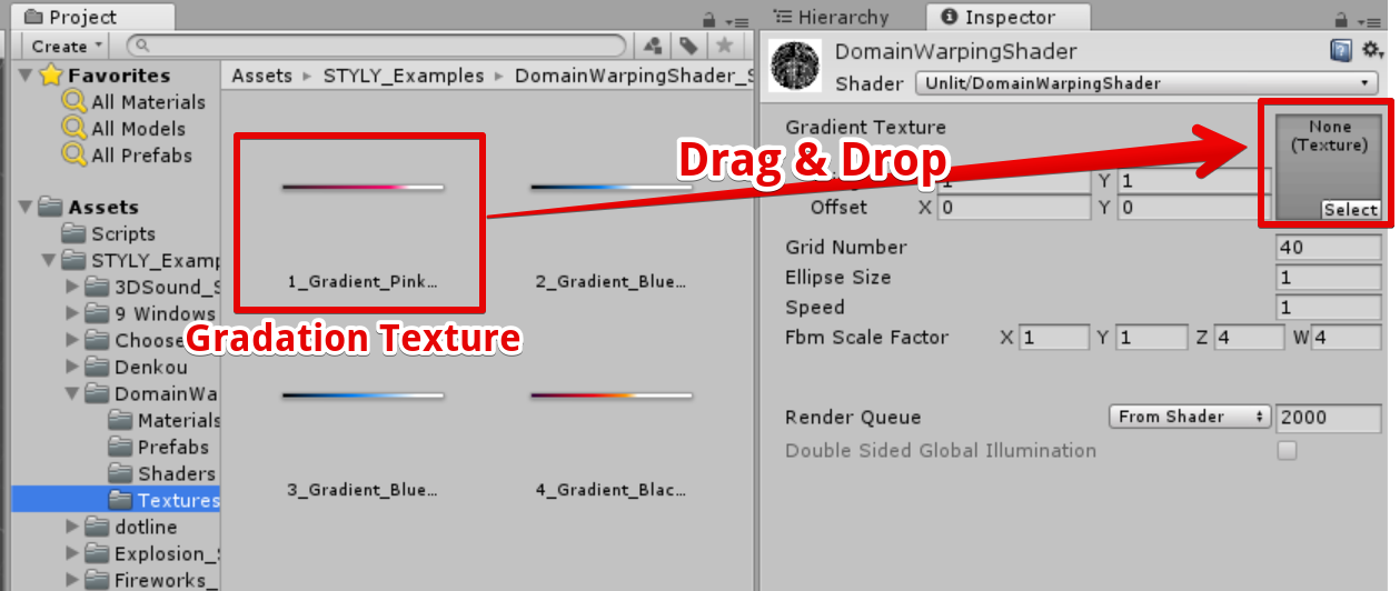 How to create 'Domain Warping' with Unity | STYLY