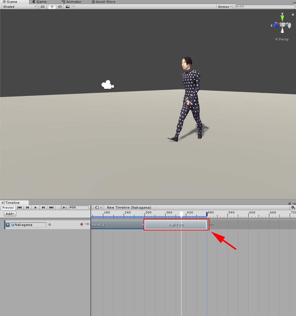 Animation Clipの追加