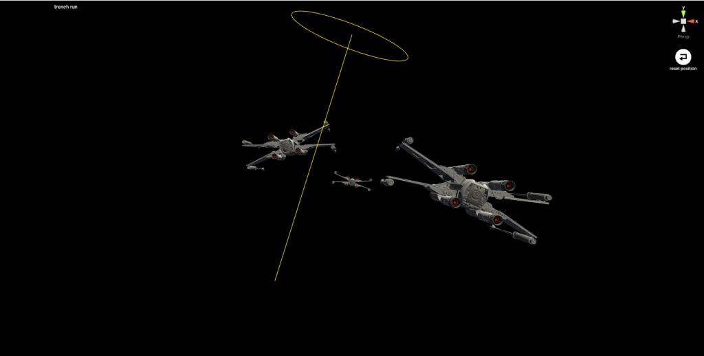 x-wingを配置する