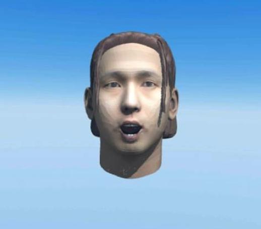 顔写真から3Dモデルを作成できるAvatar Makerを使ってみた