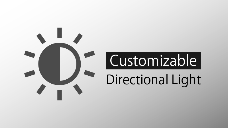 Customizable Directional Light