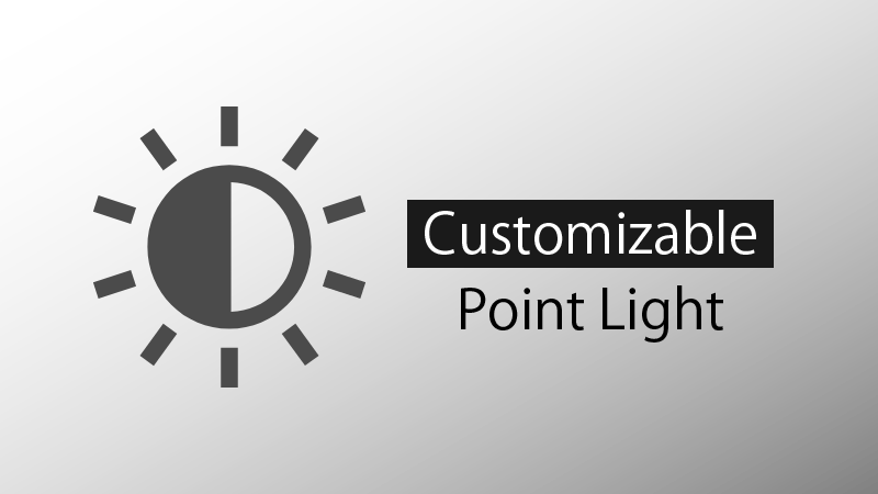 Customizable Point Light