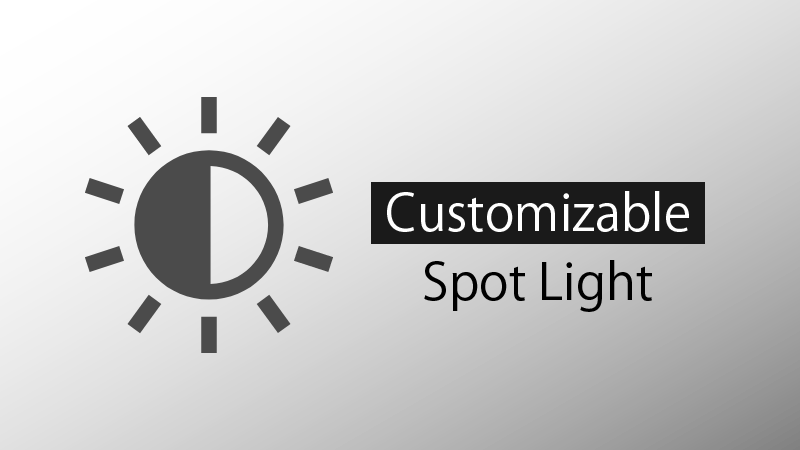 Customizable Spot Light