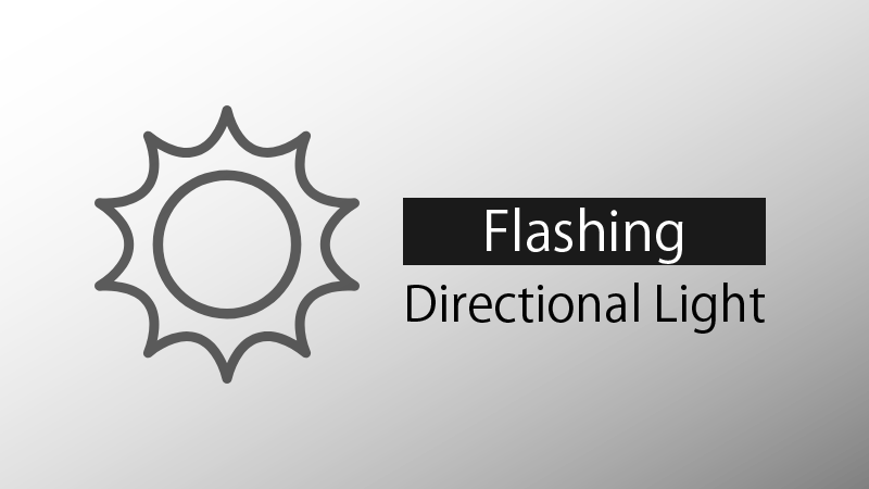 Flashing Directional Light