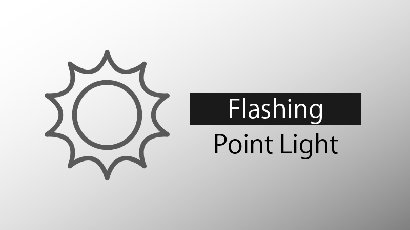 Flashing Point Light