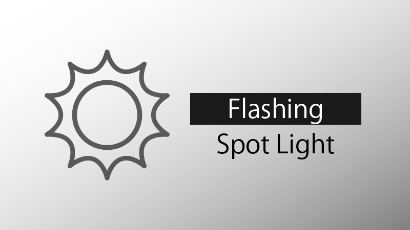 Flashing Spot Light