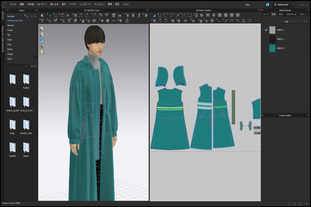 Using 3DCG and VR to reduce 27% from costs in the Apparel Industry