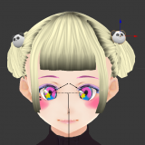 [Blender] Add accessories to VRM avatar