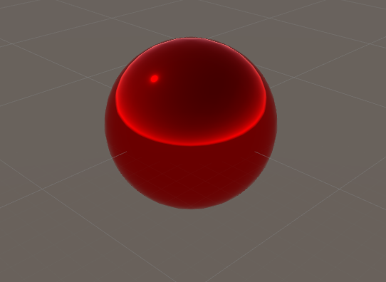 Sphere reflecting Metalic and Smoothness