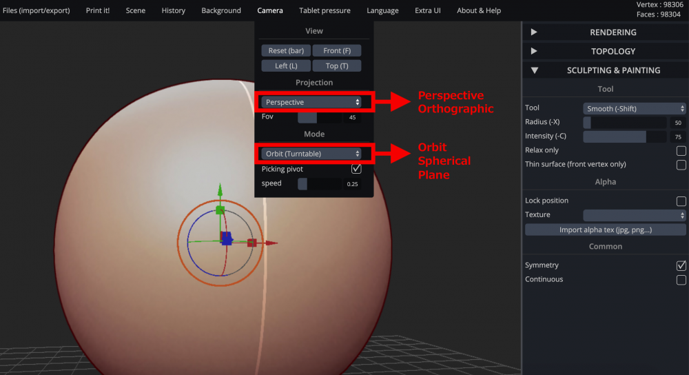 Introduction to SculptGL, a free 3D sculpting tool | STYLY