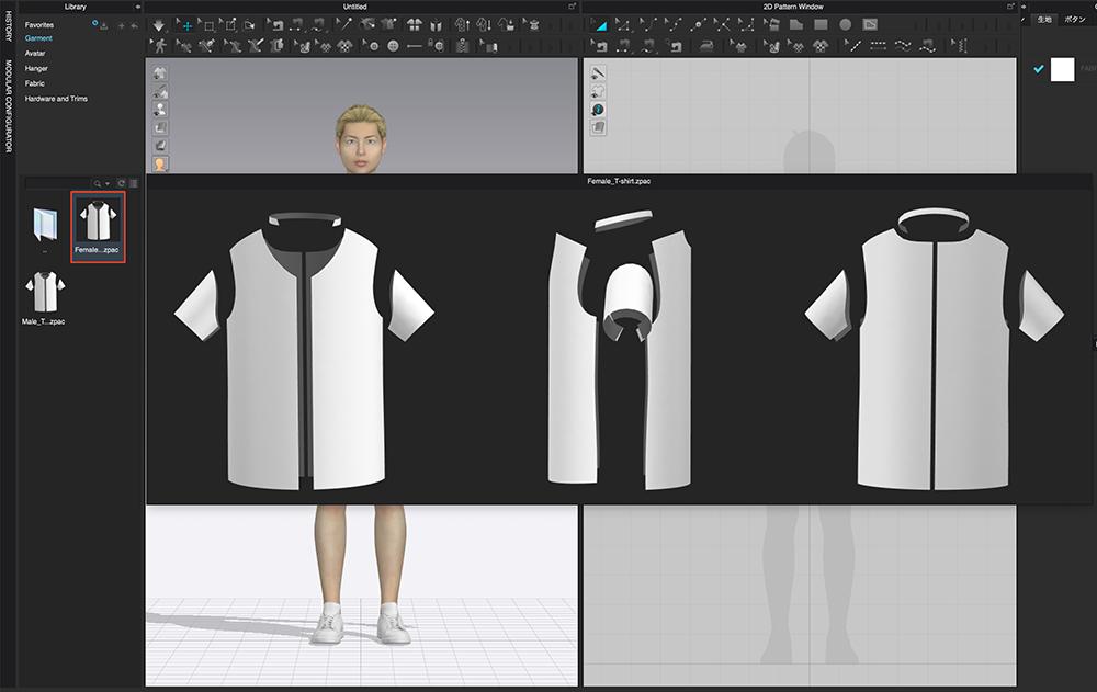 Add T-shirt②