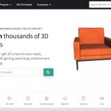 【無料3Dモデル素材サイト】CGtraderを使ってみた