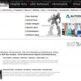 [Free 3D Model Material Site] How to Use Artist 3D Model