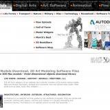【無料3Dモデル素材サイト】Artist 3D Modelを使ってみた