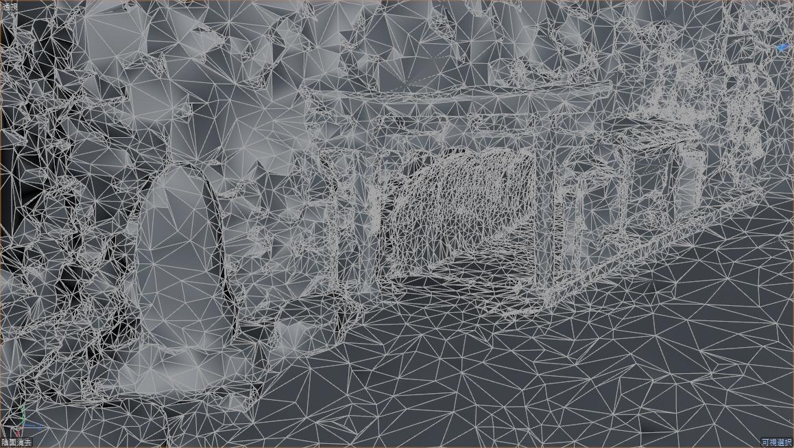 描画用オブジェクトのメッシュ