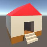 【Unity】 ProBuilderで簡単な家を作成してみる