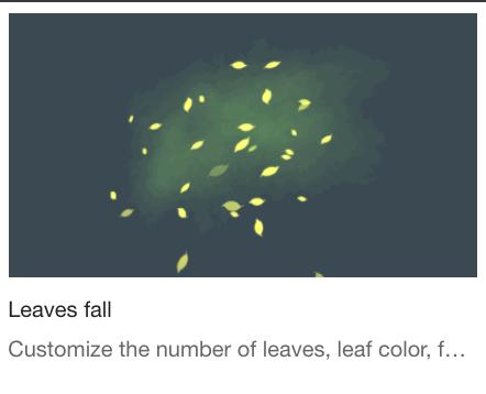 Leave fall
