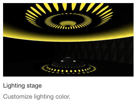 Lightning stage
