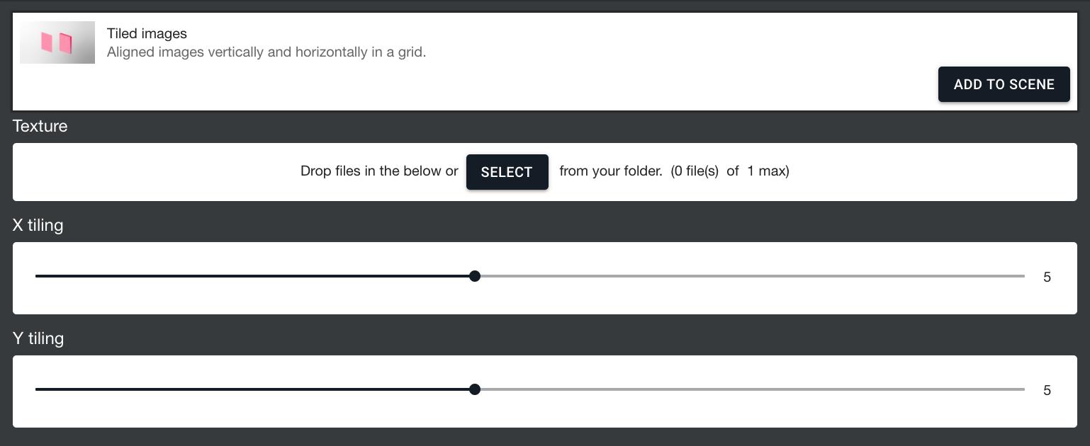 Tiled images procedure