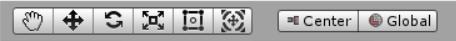 Unity 操作選択画面