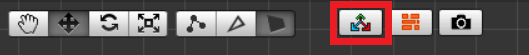 Scene内で編集するためのボタン