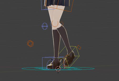 Move the legs.