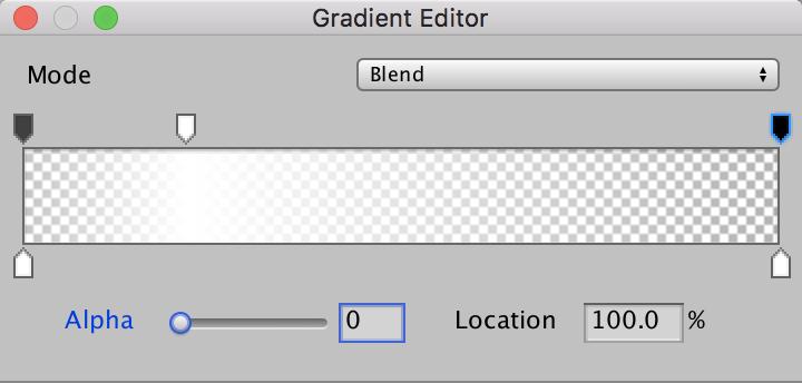 Gradient Editorを編集する