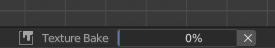 Progress bar at the bottom of the screen